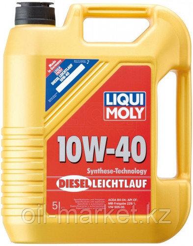 Моторное масло LIQUI MOLY DIESEL LEICHTLAUF 10W-40 5л