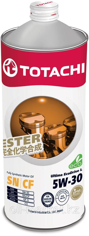 Моторное масло TOTACHI Ultima EcoDrive L  Fully Synthetic SN/CF 5W-30 1L