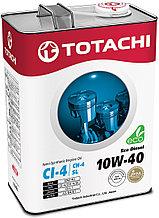 Моторное масло TOTACHI Eco Diesel Semi-Synthetic CI-4/CH-4/SL 10W-40 4L