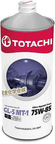 Трансмиссионное масло TOTACHI Ultra Hypoid Gear Fully Syn GL-5/MT-1 75W-85  1L, фото 2