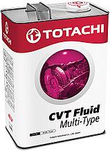 Масло для вариатора TOTACHI ATF CVT MULTI-TYPE    4L