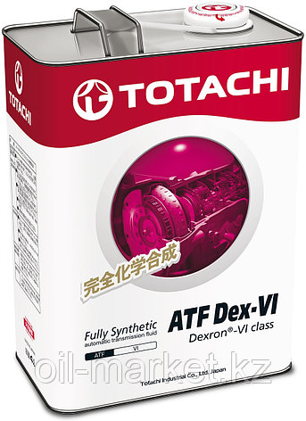 Масло для АКПП TOTACHI ATF Dexron- VI   4L, фото 2