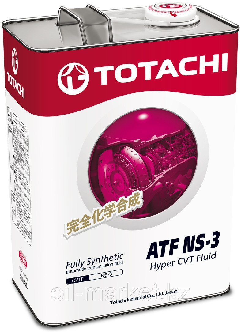 Масло для вариатора TOTACHI ATF NS-3  4L