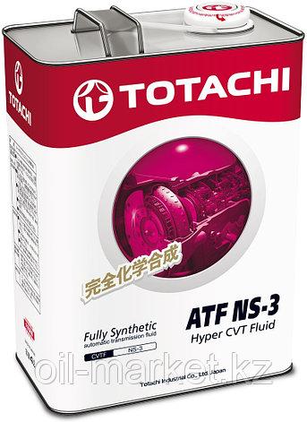 Масло для вариатора TOTACHI ATF NS-3  4L, фото 2