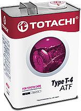 Масло для АКПП TOTACHI ATF TYPE T-IV  4L