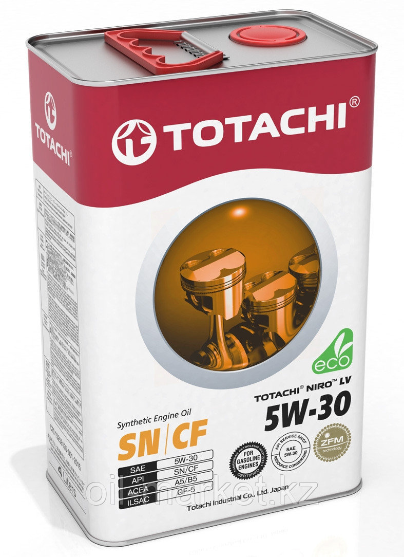 Моторное масло TOTACHI NIRO LV SN Synthetic 5W-30 4L