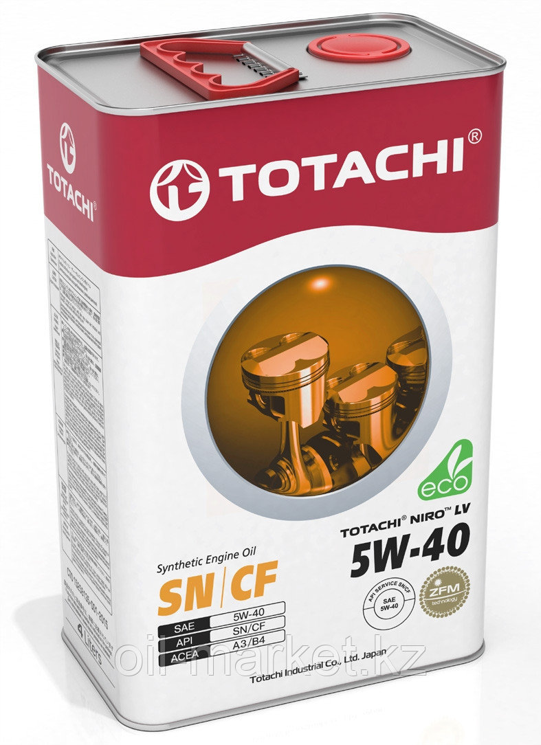 Моторное масло TOTACHI NIRO LV SN/CF Synthetic 5W-40 4L