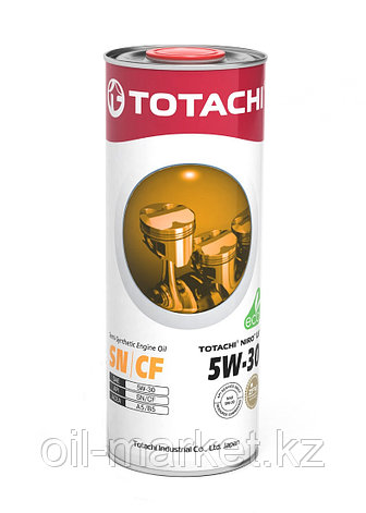 Моторное масло TOTACHI NIRO LV Semi-Synthetic SN/CF A5/B5 5W-30 1L, фото 2
