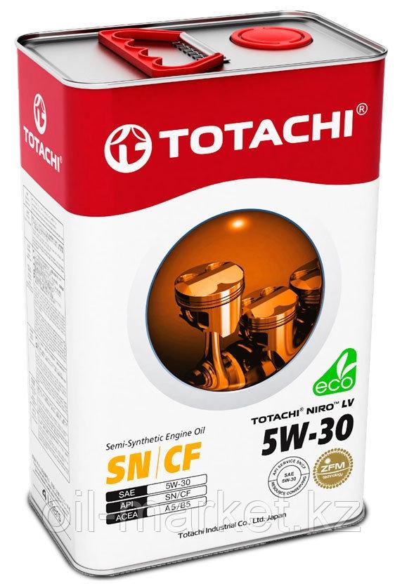 Моторное масло TOTACHI NIRO LV Semi-Synthetic SN/CF A5/B5 5W-30 4L