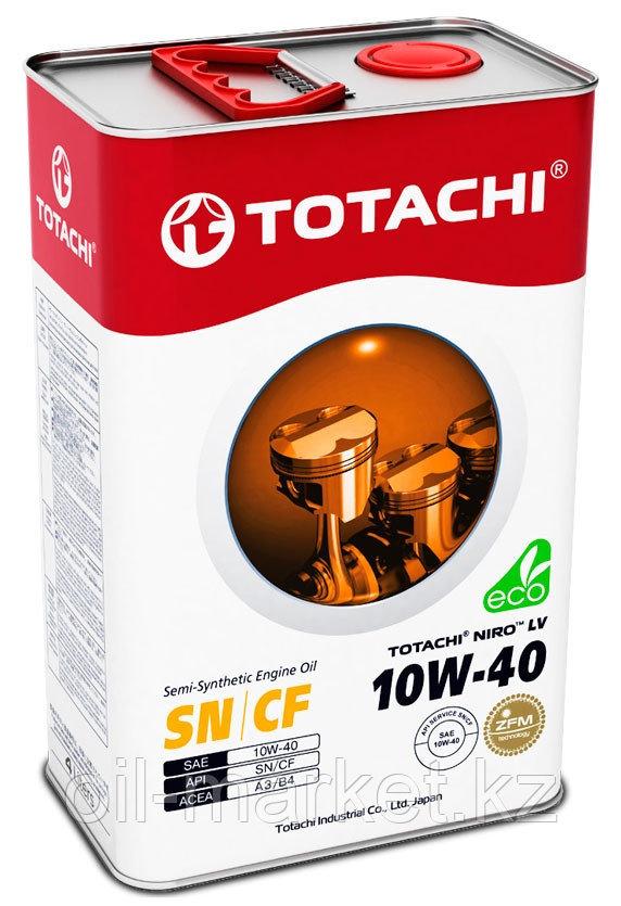 Моторное масло TOTACHI NIRO LV Semi-Synthetic SN/CF A3/B4 10W-40 4L
