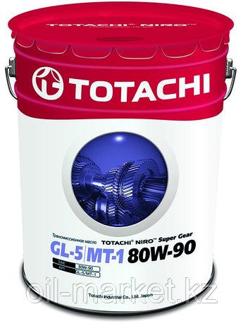 Трансмиссионное масло TOTACHI NIRO Super Gear GL-5/MT-1 80W-90 19L, фото 2