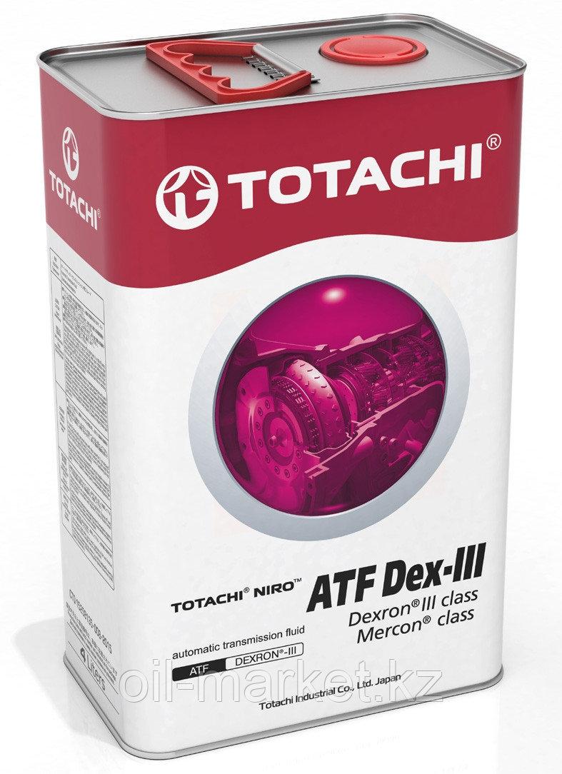 Масло для АКПП TOTACHI NIRO ATF DEXRON-III гидрокрекинг 4L