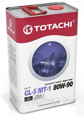 Трансмиссионное масло TOTACHI NIRO Super Gear GL-5/MT-1 80W-90 4L, фото 2