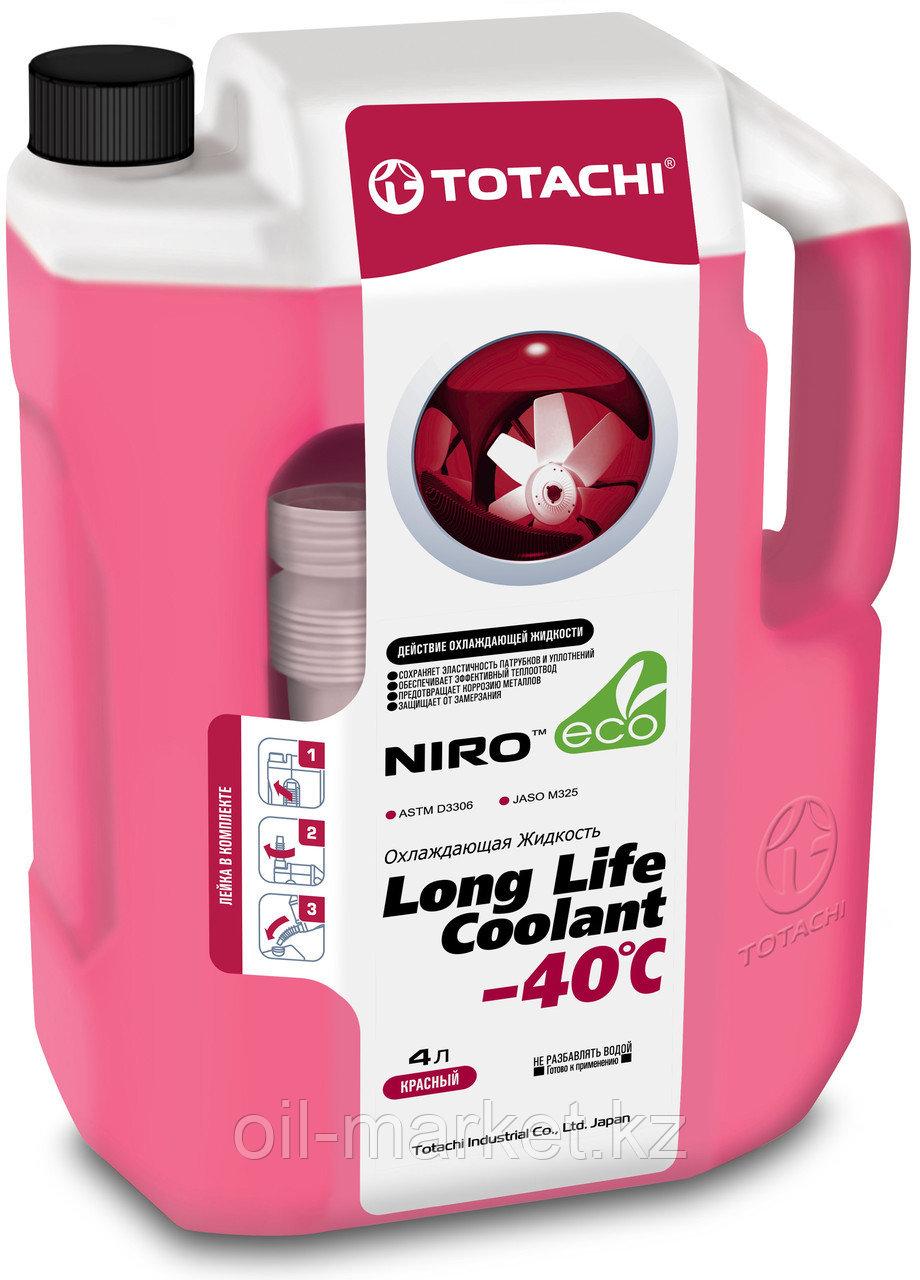 Антифриз TOTACHI NIRO LONG LIFE COOLANT Red 4л. (Красный)