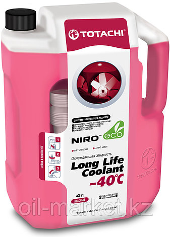 Антифриз TOTACHI NIRO LONG LIFE COOLANT Red 4л. (Красный), фото 2