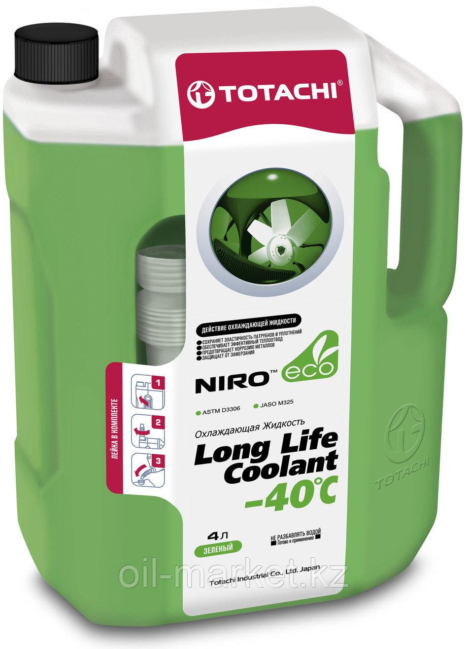 Антифриз TOTACHI NIRO LONG LIFE COOLANT Green 4л. (Зеленый)