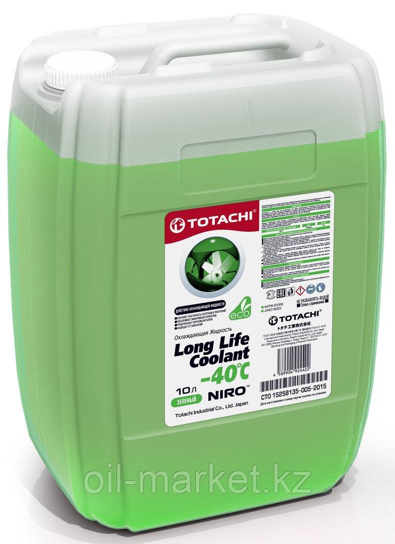 Антифриз TOTACHI NIRO LONG LIFE COOLANT Green 10л. (Зеленый)