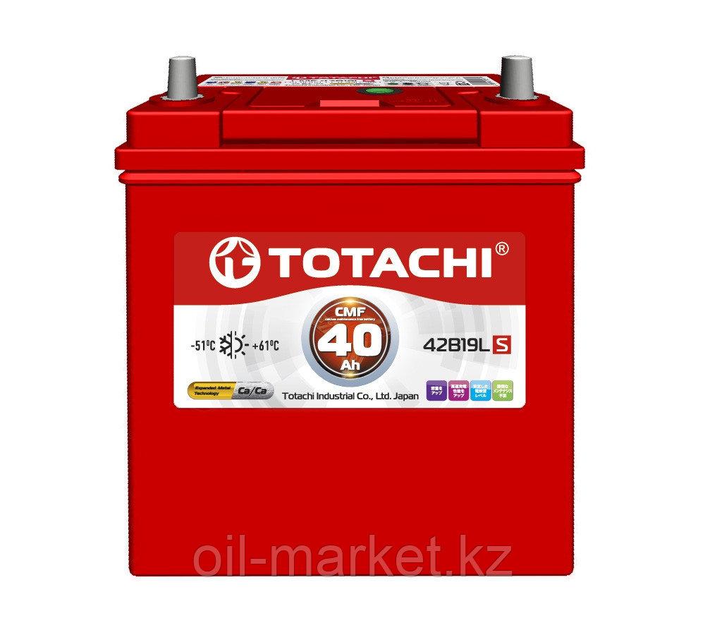 Аккумулятор TOTACHI 40 А/ч CMF - 42B19LS