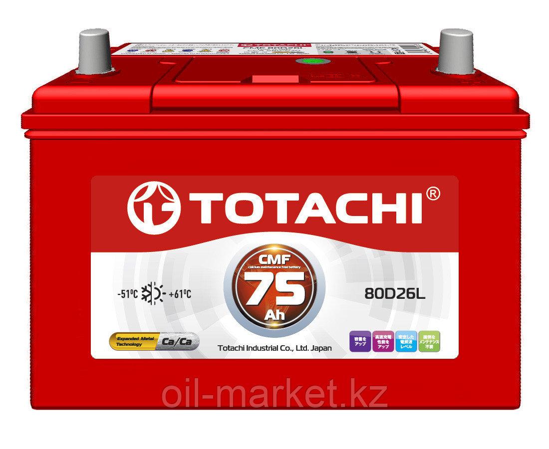 Аккумулятор TOTACHI 75 А/ч CMF - 80D26L