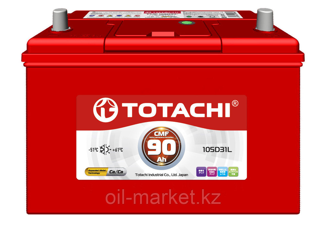 Аккумулятор TOTACHI 90 А/ч CMF - 105D31L