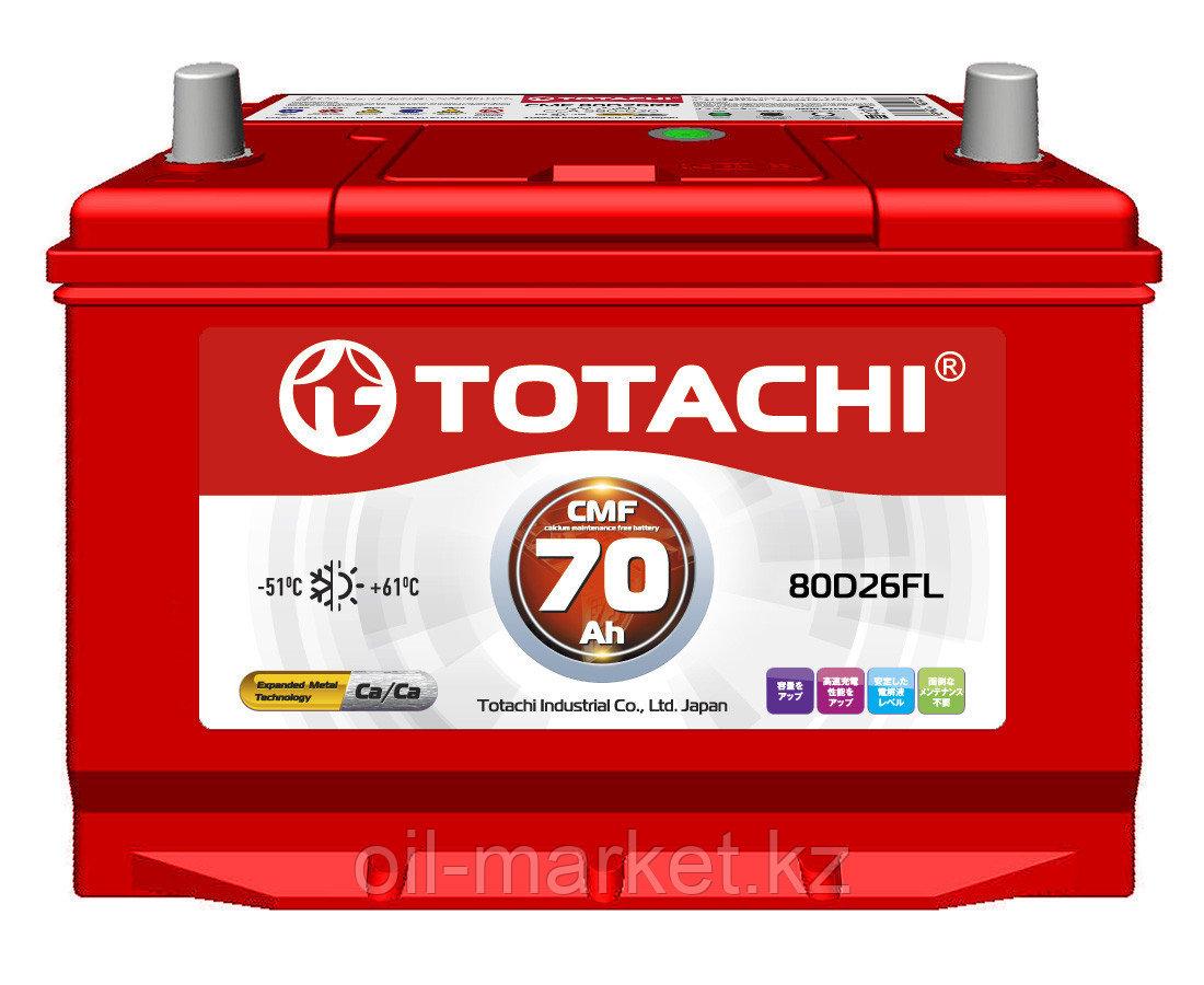 Аккумулятор TOTACHI 70 А/ч CMF - 80D26FL