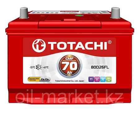 Аккумулятор TOTACHI 70 А/ч CMF - 80D26FL, фото 2