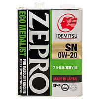 Моторное масло ZEPRO ECOMEDALIST 0W-20 4L