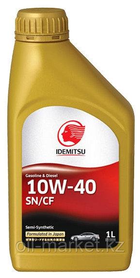Моторное масло IDEMITSU 10W40 Semi Synt 1L
