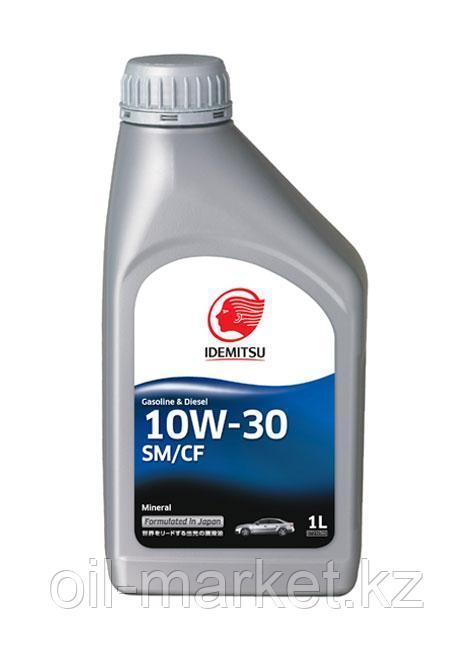 Моторное масло IDEMITSU 10W30 Semi Synt 1L