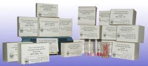 Тест-набор МЭТ-Zn-РС: Цинк, мг/дм3: 0-0,3-0,5-0,7-1 (50 определений)
