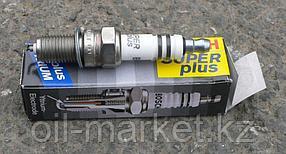 BOSCH Комплект свечей зажигания DOUBLE PLATINUM FR 8 DPP 33+ (+45), 4шт, фото 2