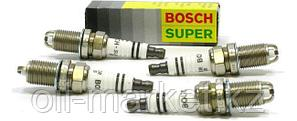 BOSCH Комплект свечей зажигания FGR 7 DQE+ (+23), 4шт, фото 2