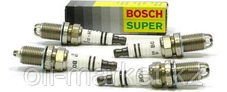 BOSCH Комплект свечей зажигания FGR 7 DQE+ (+23), 4шт