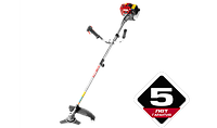Триммер бензиновый (бензокоса), ЗУБР КРБ-350, 32,5см3 (1,1 л.с./0,8 кВт), 9000об/мин, катушка/нож, , фото 1