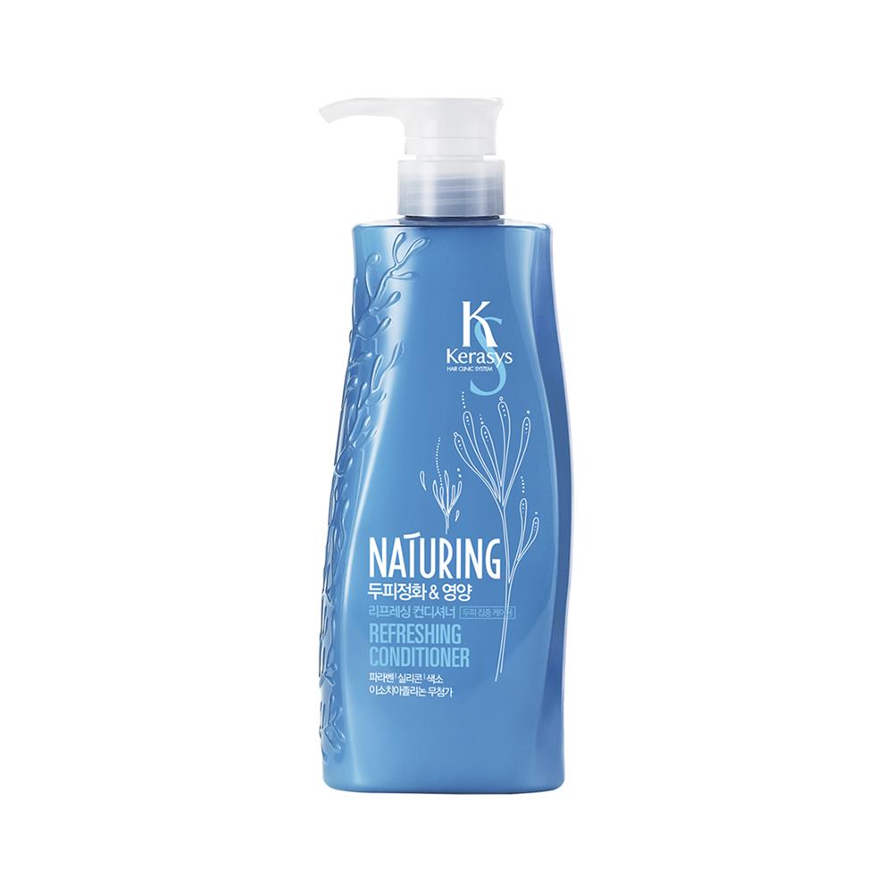 KeraSys Naturing Conditioner Refreshing кондиционер для волос Освежающий 500 мл.