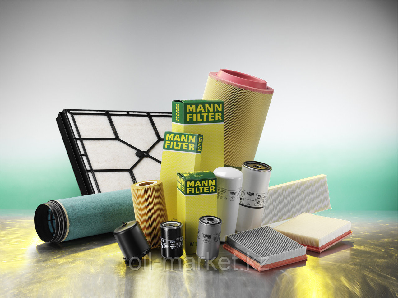MANN FILTER фильтр масляный HU712/6X