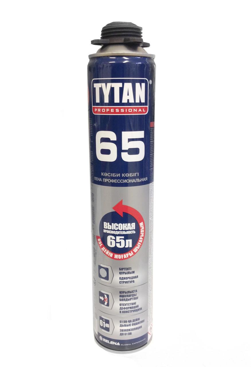 TYTAN 65 ПУ монтажная пена пистолетная летняя 12 шт. в коробке