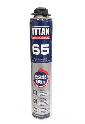 TYTAN 65 ПУ монтажная пена пистолетная летняя 12 шт. в коробке, фото 2