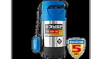 Насос Т5 погружной, ЗУБР Профессионал НПЧ-Т5-1000-С, дренажный для чистой воды (d частиц до 5мм), 1000Вт, фото 1