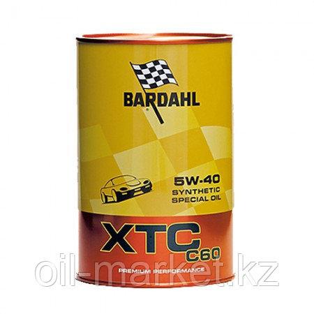 Моторное масло BARDAHL XTC C60 5W-40 1 л