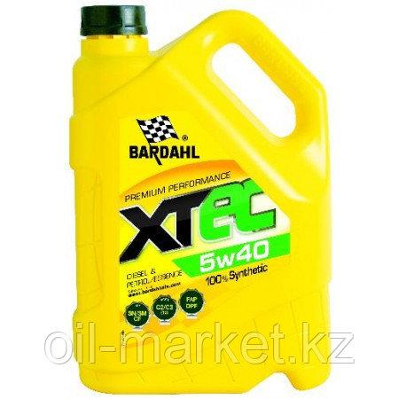 Моторное масло BARDAHL XTEC 5W-40 5 л, фото 2