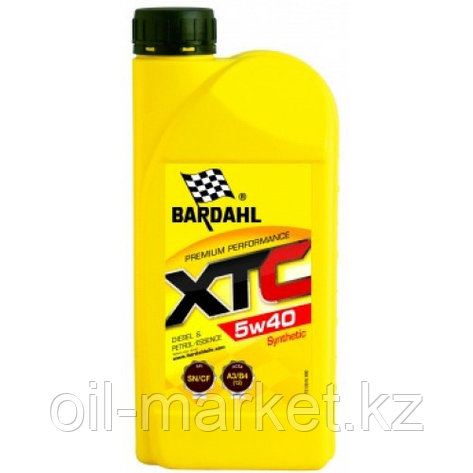 Моторное масло BARDAHL XTC 5W-40 1 л, фото 2
