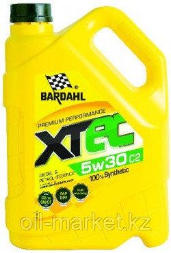 Моторное масло BARDAHL XTEC 5W-30 C2 5 л, фото 2