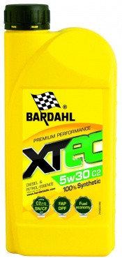 Моторное масло BARDAHL XTEC 5W-30 C2 1 л, фото 2
