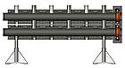 Напольный распределитель на 3 контура, Victaulic, PN10, фото 2
