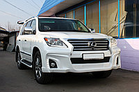 Бампера WALD Black Bison 2013 на Lexus LX570 (Реплика), фото 1