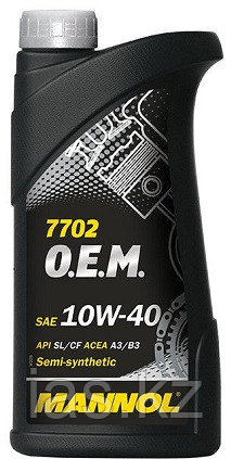 Моторное масло MANNOL O.E.M. for Chevrolet Opel 10w40 1 литр