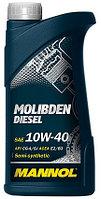 Моторное масло MANNOL Molibden  Diesel 10w40 1 литр