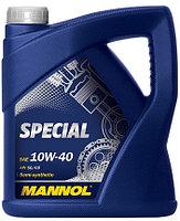 Моторное масло MANNOL Special 10w40 5 литров