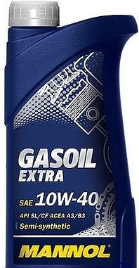 Моторное масло MANNOL Gasoil Extra 10w40 1 литр